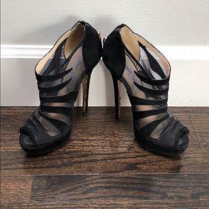 Jimmy Choo Shoes - Jimmy Choo ankle boot open toe heels.